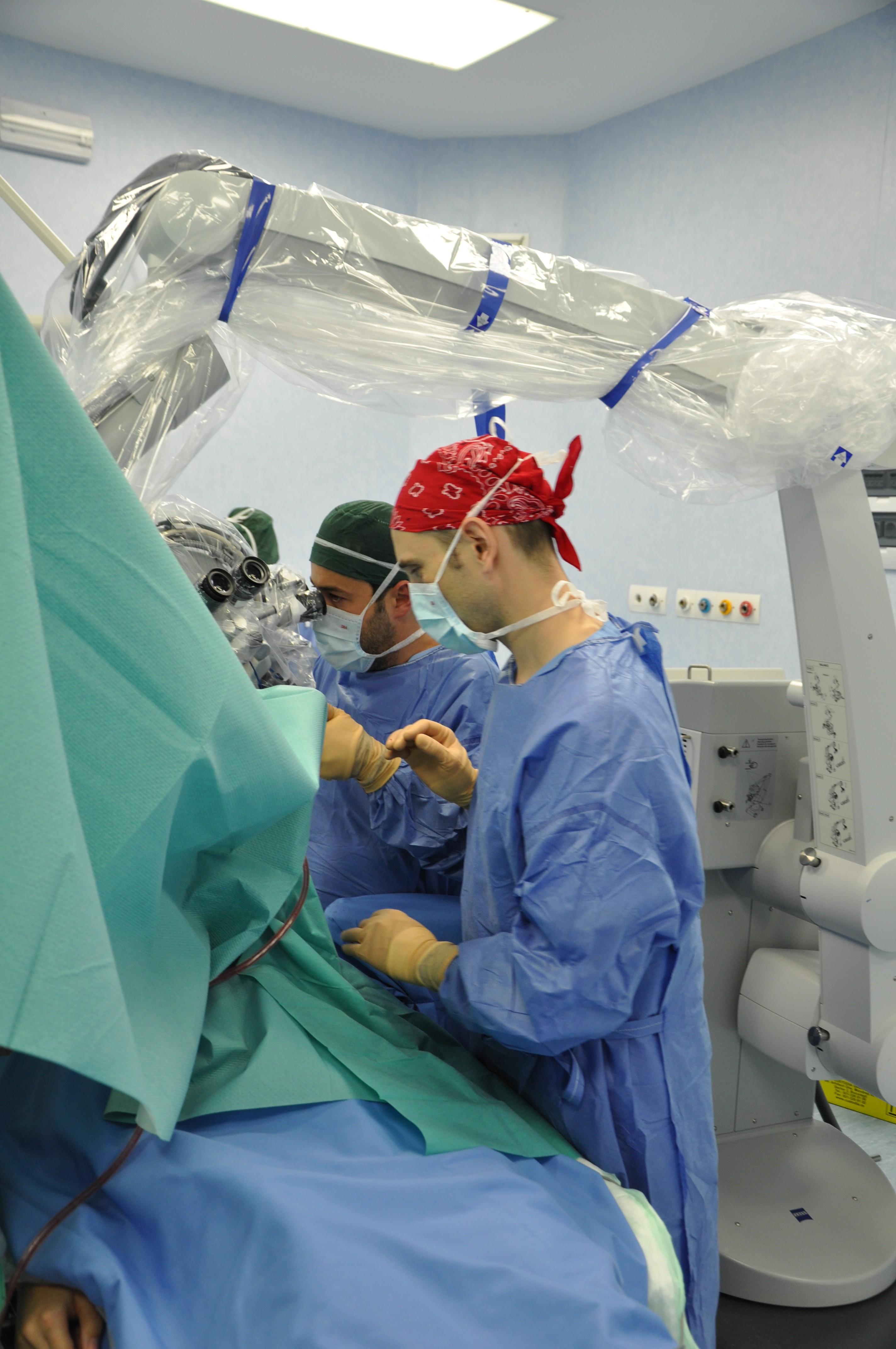 Dr. Sergiu Stoica și Dr. Mihai Crăciun