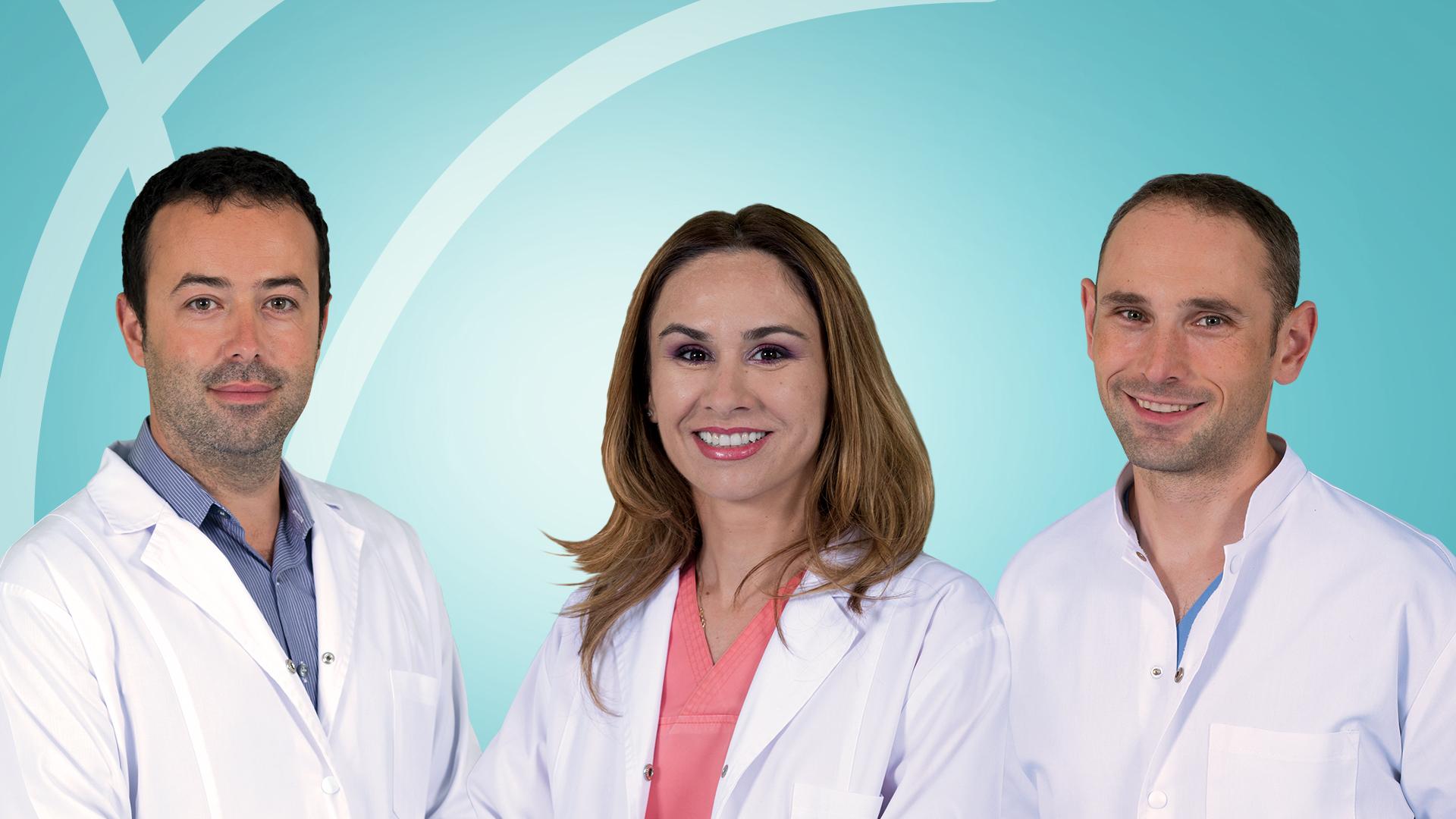 Echipa Brain Institute - Dr. Sergiu Stoica, dr. Anca Visan si dr. Mihai Craciun (de la stanga la dreapta)